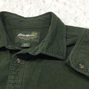 Men's Size Large Eddie Bauer Soft Flannel Shirt